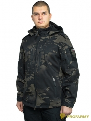 Куртка Mistral XPS69-5 Softshell multicam blacк от PROFARMY